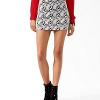 Embroidered Bodycon Skirt | FOREVER 21 - 2019571358