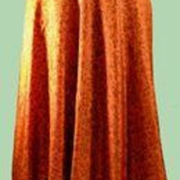 Reversible Silk Wrap Skirt
