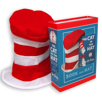 The Cat In The Hat Book and Hat, Dr. Seuss