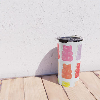 Gummy Bears Travel Mug by allisone