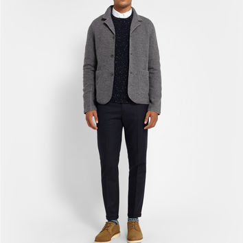 NN.07 - Wallace Slim-Fit Boiled Wool Blazer | MR PORTER