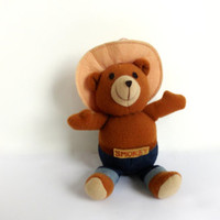 Vintage Smokey the Bear / Stuffed Animal / Ornament