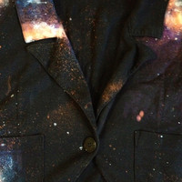 Galaxy Blazer  L by LosDiasDeRamen on Etsy