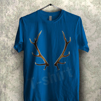 deer antler stannis baratheon tee - 144 Unisex T- Shirt For Man And Woman / T-Shirt / Custom T-Shirt / Tee
