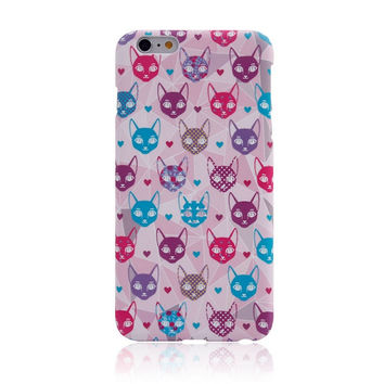 I am a Cat 6 Creative Handmade iPhone creative cases for 5S 6 6S Plus