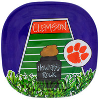 Clemson Tigers Death Valley Dinner Plate