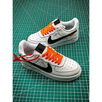 OFF WHITE x Nike Air Force 1 AF1 LV8 LTR Sport Shoes