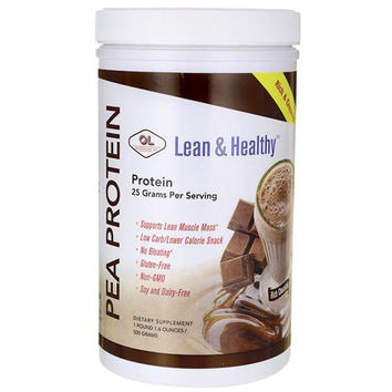 Olympian Labs Pea Protein - Lean And Healthy - Rich Chocoate - 500 Grams