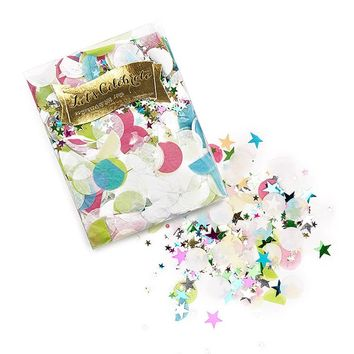 Circle and Star Confetti Pack