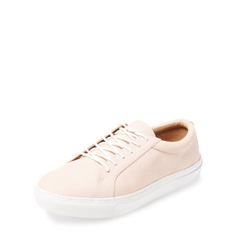 Bettye by Bettye Muller Women's Boyfriend Nubuck Low Top Sneaker - Pink