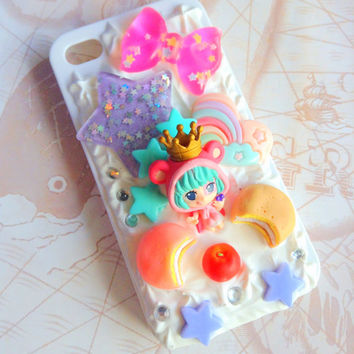 Anime One piece - Sugar sweet decoden kawaii phone case for iphone 4 and 4S