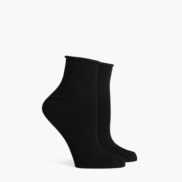 Jane Roll Top Ankle Sock