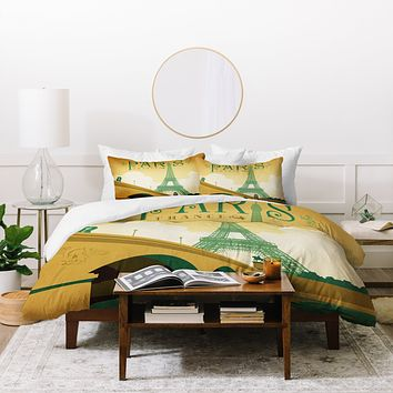 Anderson Design Group Paris Duvet Cover