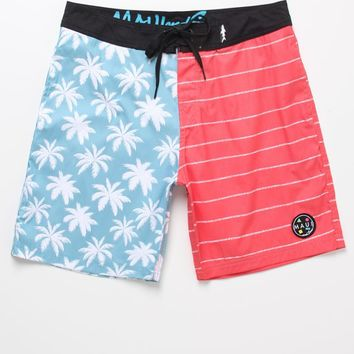 a7529e6fbe Maui & Sons Tropiworks Boardshorts - Mens Board Shorts - Red/White/Blue