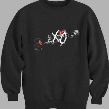 XO The Weeknd Art Sweater for Mens Sweater and Womens Sweater *