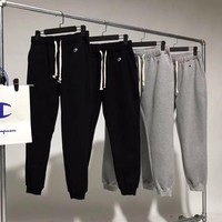 Champion Woman Men Fashion Cashmere Drawstring Pants Trousers