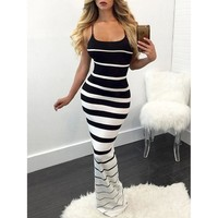 Women Summer Maxi Bodycon Dress