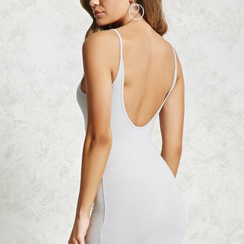 Open-Back Cami Dress
