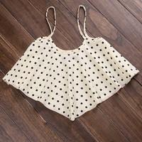Lady Vintage Cropped Top - iWearSin