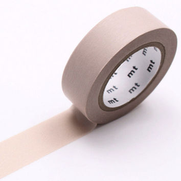 mt Washi Tape Single Pastel Brown