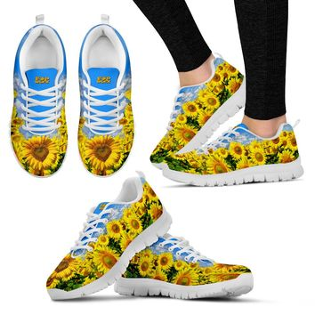 Pop Worx Sunflower Running Shoes