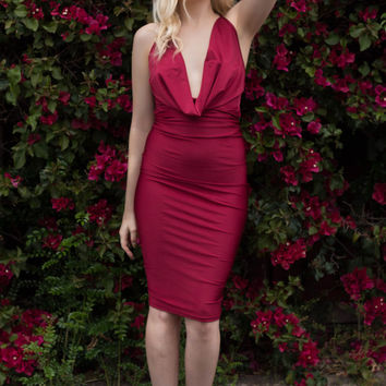 Vixen Dress in Rouge