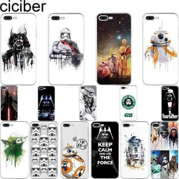 ESBON5 Ciciber Star Wars Soft Silicon Phone Cases Cover For iPhones