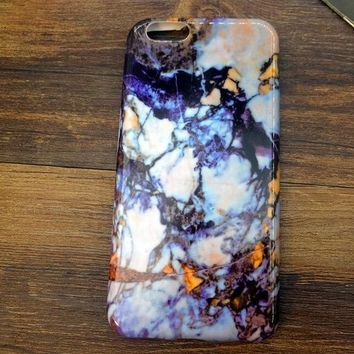 Newest Top Quality Marble Stone iPhone 7 se 5s 6 6s Case Cover Gift + Gift Box-170928