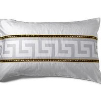 Versace La Coupe Des Dieux King Size Pillow Case Set 2 pcs - Meandre, Grey