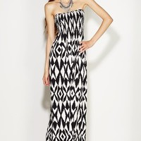 Santa Monica Smocked Maxi Dress