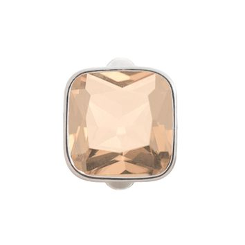 Endless Jewelry - Big Gemstone Cube Silver Charm (Various Colors)