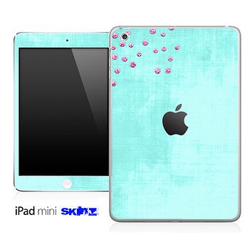 Subtle Vintage Green Skin for the iPad Mini or Other iPad Versions