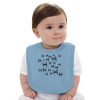 Tie Fighters - Star Wars Baby Bib