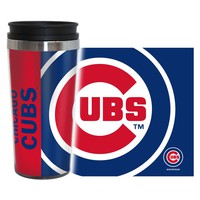 CHICAGO CUBS 16OZ ACRYLIC INSULATED TRAVEL COFFEE MUG BRAND NEW  SHIPPING