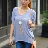 Lovely in Lilac Top