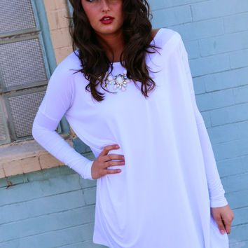 White Piko Tunic/Dress