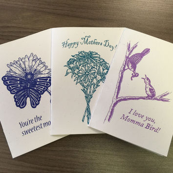 Minimalist Mother's Day Cards