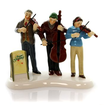 Department 56 Accessory SNOW VILLAGE STRING TRIO Sounds Christmas 4049214