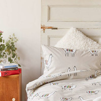 Vik the Llama Duvet Cover - Urban Outfitters