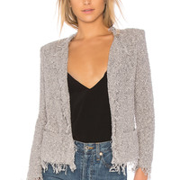 IRO Shavanix Jacket in Light Grey