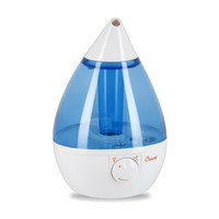 Crane Drop Shape Ultrasonic Cool Mist Humidifier with 2.3 Gallon output per day