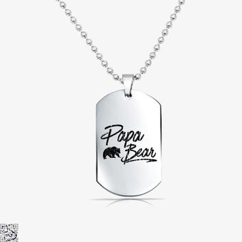 Papa Bear, Father's Day Tag