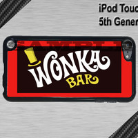 New iPod Touch 5 Case - Wonka Candy Bar  - iPod Touch 5 Plastic Case