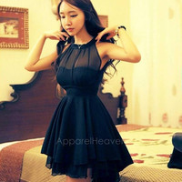 New Fashion Bandage Casual Dress Women Novelty Cute Lace Dresses Peplum Party AP = 1947035908