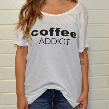 Women's Tee - Coffee Addict