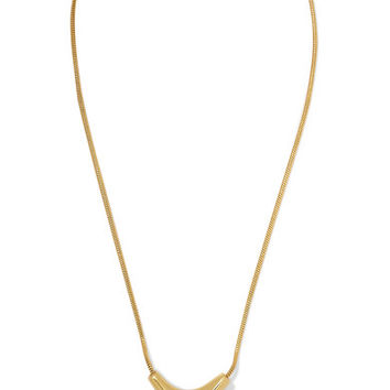 Pamela Love - Kendrick gold-plated and silver necklace