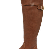 Rider 24 Tan Over the Knee Boots
