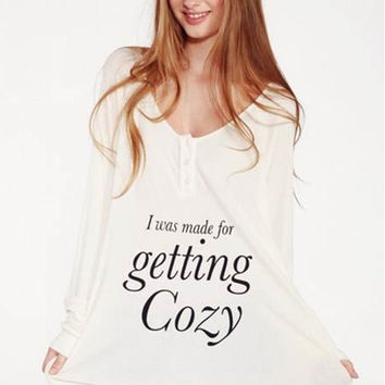 Get Cozy Raglan by WILDFOX
