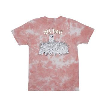 All Hail Tee (Rose Acid Wash) | RIPNDIP