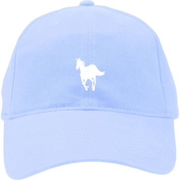 Deftones Men's  Pony Light Blue - Dad Baseball Cap Light